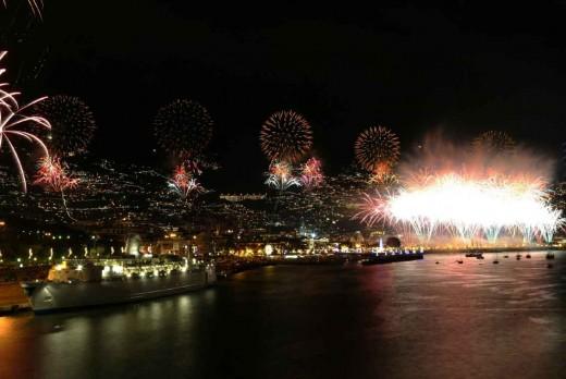 Fireworks in Madeira