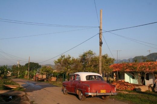 Classic car in Vinales