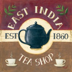 A Sign Board Required in Front of your TEA SHOP.