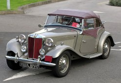 Classic MG Cars: The MG T series