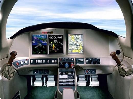 Modern Advanced cockpit