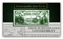 Gold Convertibility Suspended