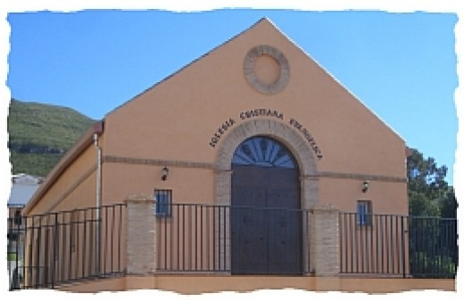 Daniel Del Vecchio's first 'free' church in Spain, started 1964