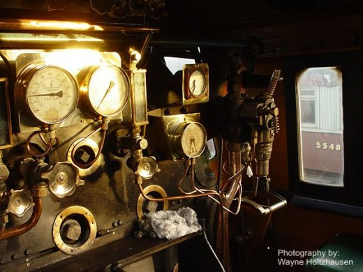Engine Room - Outeniqua Choo Tjoe Train