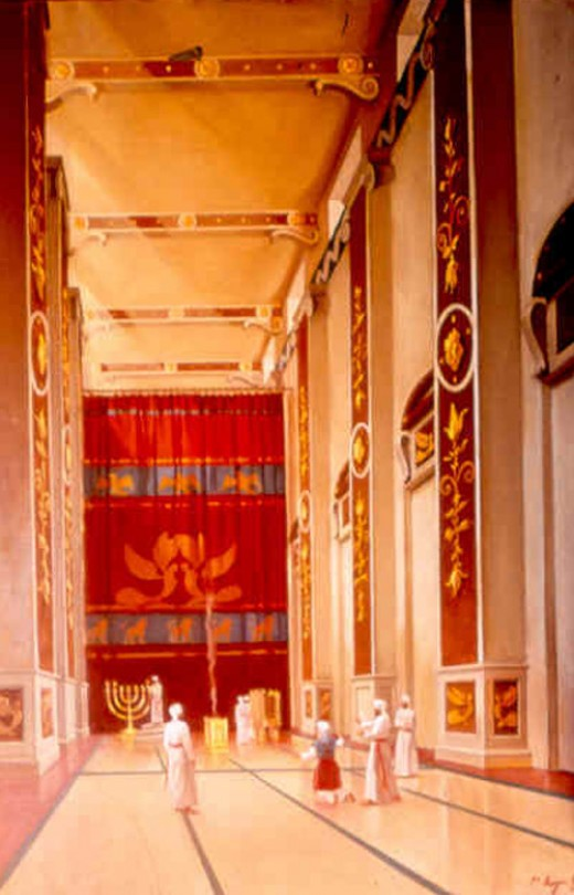 art from the Temple Institute