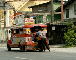 Modification of family jeep into the present passenger jeepney