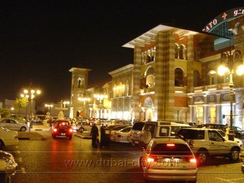 A main road in Dubai mirrorring the granduer