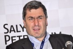 The exasperated Ivanchuk who got eliminated in the second round by Wesley So. Photo from ugra-chess.ru