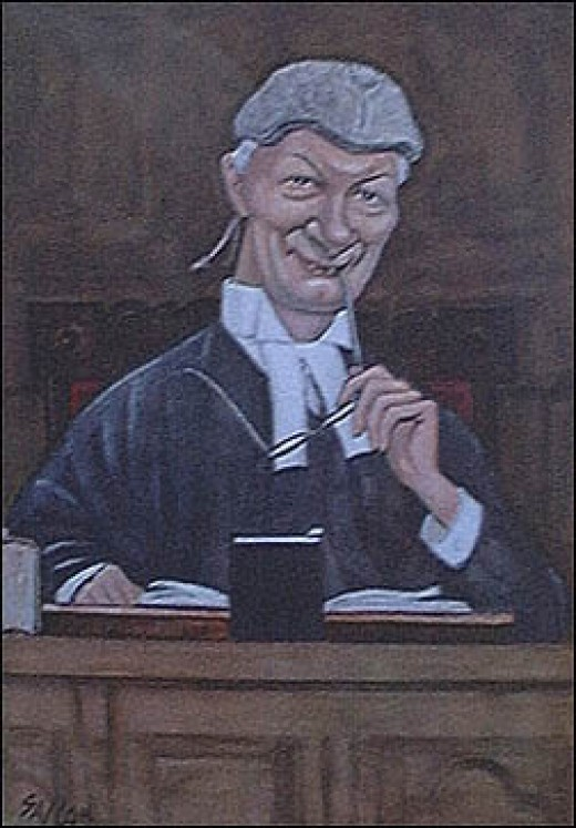 """The House of Commons starts its proceedings with a prayer. The chaplain looks at the assembled members with their varied intelligence and then prays for the country.""        LORD DENNING"