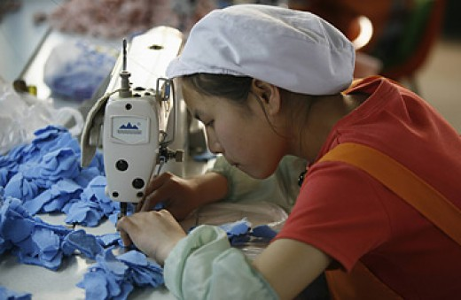 The Chinese government makes it very hard to pin down the number of children working