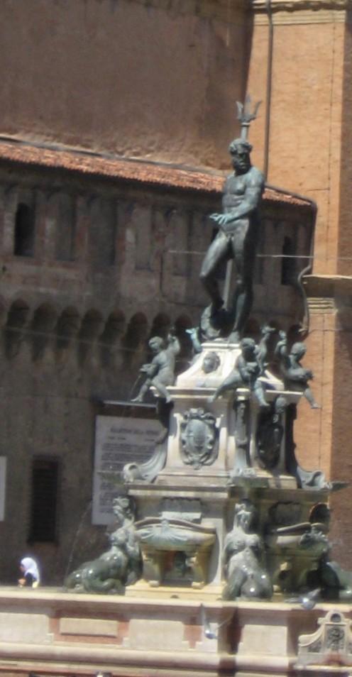 Neptune's fountain Bologna, Italy.