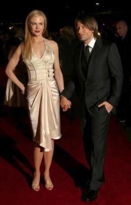 Nicole Kidman and husband Keith Urban