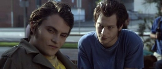 Deadgirl(2008) Rickie played by   Shiloh Fernandez    (left) J.T played by Noah Segan (right)