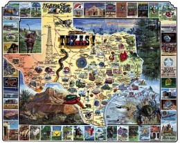 White Mountain 1000 piece Jigsaw Puzzles (Best of Texas)