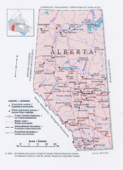 Lynda's guide for Americans in Alberta