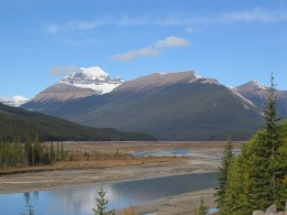 Mount Saskatchewan (in Alberta)