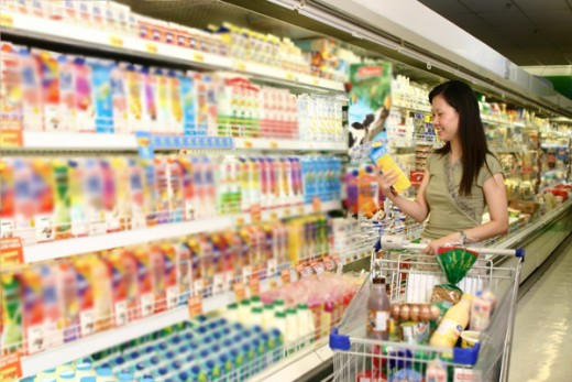 Control your budget by removing useless grocery items from your monthly grocery list.