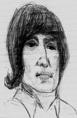 John Lennon, circa Rubber Soul, by rlz