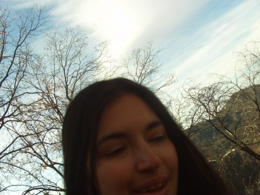 Another self-shot in the San Bernardino Mountains.
