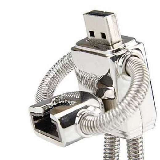 Robot-Inspired Flash Drive