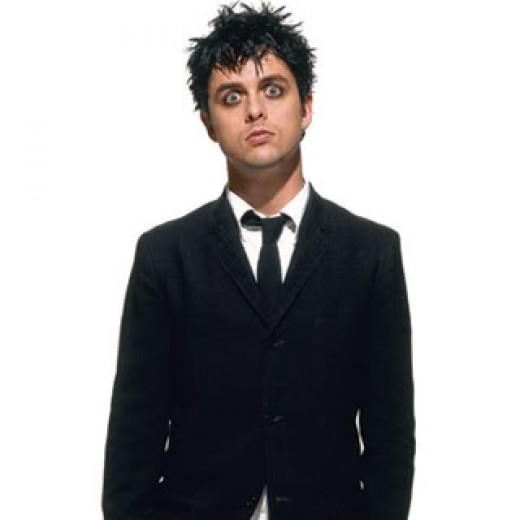 Billy Joe Armstrong's hairstyle