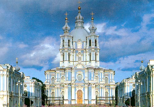 The Smolny Convent, St. Petersburg Russia