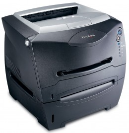 This is a Lexmark E238 laser jet printer which I actually own.