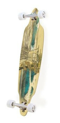 Sector 9 Sunset Bamboo Series Longboard