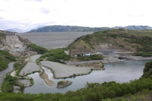 345 MW San Roque Multipurpose located in San Manuel, Pangasinan
