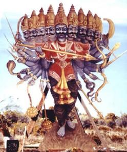 King Ravana of Sri Lanka.