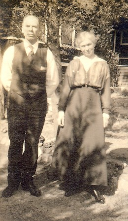 My mother's fraternal grandparents