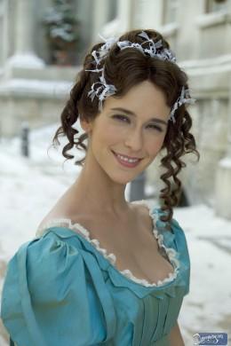 Jennifer Love Hewitt as Scrooge's love interest, Emily.