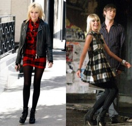 Gossip Girl Taylor Momsen in Nine West boots
