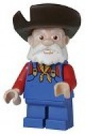 The Prospector minifigure