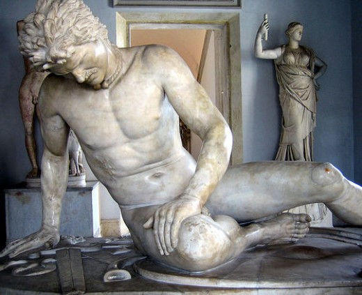 The Dying Gaul. Photo by antmoose.
