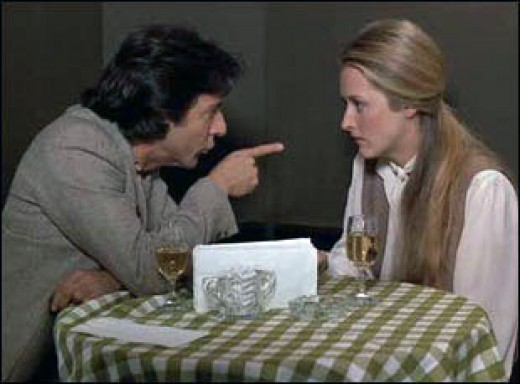 Dustin Hoffman and Meryl Streep in Kramer v Kramer