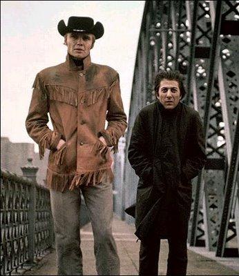 Jon Voight and Dustin Hoffman in Midnight Cowboy