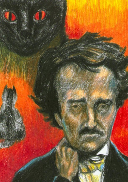 Edgar Allen Poe, by Eric Allshouse (1999)