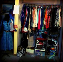 Exploding Closet...