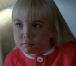 Heather ORourke in her last production, Poltergeist III.