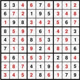 Sudoku Solved