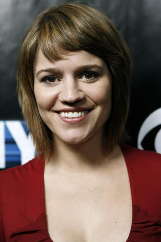 I like this hairstyle, this is what she often has in the newer csi ny shows