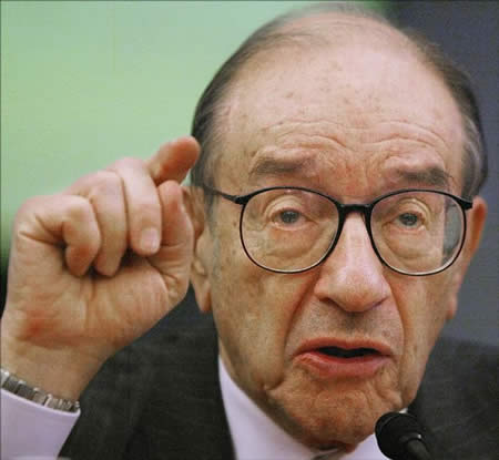Greenspan forcefully states a simple truth - The Federal Reserve Sets Policy and is ABOVE THE LAW!