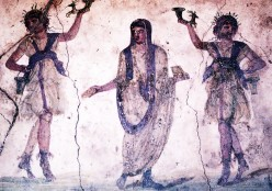 Fresco from Pompeii (Photo by Clara Natoli)