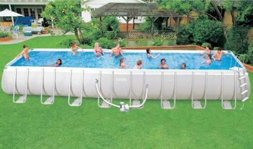 Big above ground swimming pool review