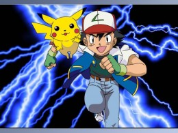 PokeHeroes Ash Ketchum and Pikachu