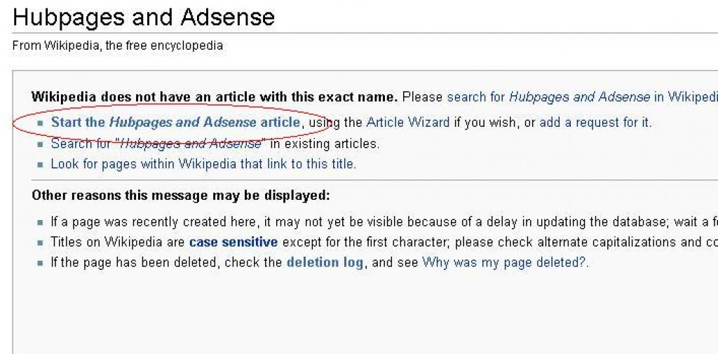 How to Create a Page in Wikipedia | HubPages