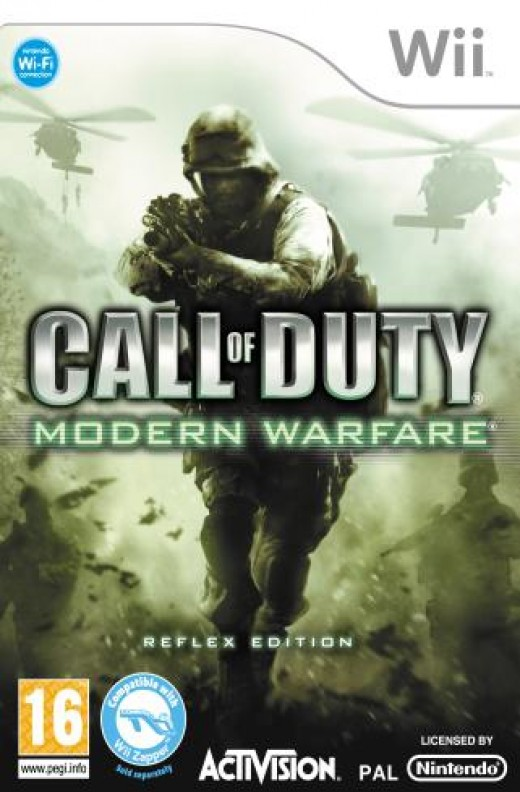 Call of Duty 4 is by far the best Wii Game