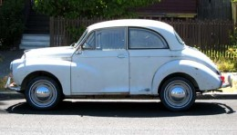 Faithful Morris Minor 1000, went there and back then died.
