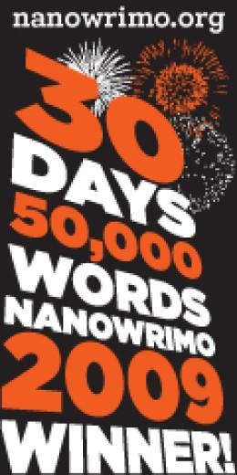 Nanowrimo 2009, I set a new record!